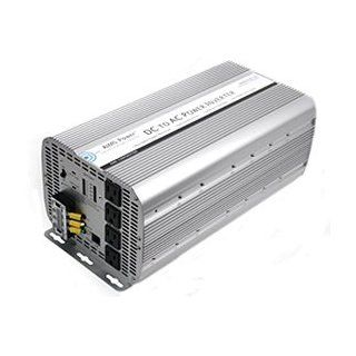 AIMS Power 5000W Modified Sine Wave Industrial Inverter 12V PWRIG500012W : Vehicle Power Inverters : Car Electronics