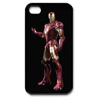 Custom Iron Man Cover Case for iPhone 4 4S PP 0228: Cell Phones & Accessories