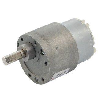 Amico 12V DC 0.07A 20RPM Torque Gear Box Electric Motor 37mm   Electric Fan Motors