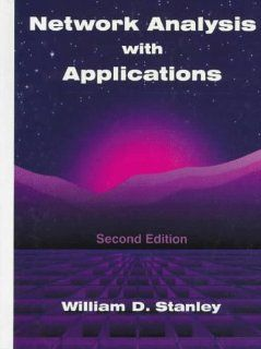 Network Analysis With Applications: William D. Stanley: 9780132609104: Books