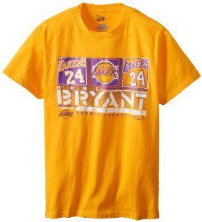 NBA LA Lakers Kobe Bryant Big Leagues Crew Neck Tee Shirt  Sports & Outdoors