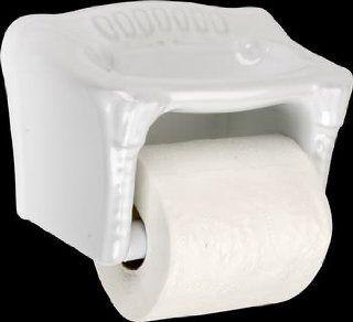 Toilet Paper Holder White Ceramic, Toilet Tissue Holder  13502   Ceramic Recessed Toilet Paper Holder