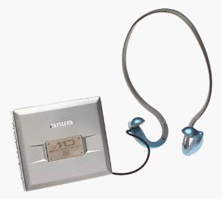 Aiwa AMHX30 Portable Minidisc with headphones & remote: MP3 Players & Accessories