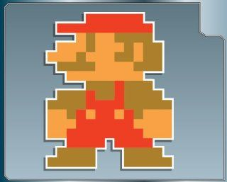 MINI MARIO 8 bit from Super Mario Bros. vinyl decal sticker
