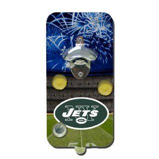 NFL New York Jets Clink N Drink Magnetic Bottle Opener  Sports Fan Wallets  Sports & Outdoors