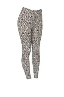 Isadora Paccini Women's Print Leggings at  Women�s Clothing store: Leggings Pants