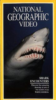 National Geographic's Shark Encounters [VHS] National Geographic Movies & TV