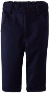 egg by susan lazar Baby Boys Newborn Flannel Pant, Navy, 3 6 Months: Infant And Toddler Pants Clothing Sets: Clothing