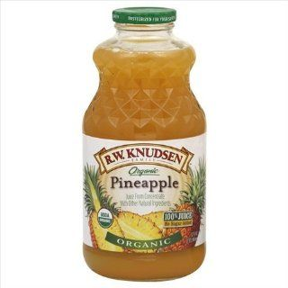 Juice Pineapple Org 32 FO (Pack Of 6) : Grocery : Grocery & Gourmet Food