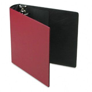 """Samsill 17664 Top Performance DXL Angle D 3 Ring Reference Binder w/Label Holder, Locking Rings, 2"""" Capacity   Burgundy  Office D Ring And Heavy Duty Binders"""