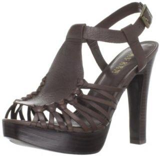 Lauren Ralph Lauren Women's Fernanda Platform Sandal, Black, 5.5 M US: Shoes