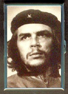Che Guevara Classic Photo Double Sided Cigarette Case, ID Holder, Wallet with RFID Theft Protection: Office Products
