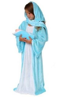 Nativity Christmas Pageant Dressup Costume Mary Xmas 6/8 Clothing