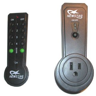Remote Control for Wall Outlet   Turn On or Off Any Light or Appliance that is Plugged into it from Across the Room! Wireless Transmitter   Great for Senior Citizens, Invalids   Electrical Switches