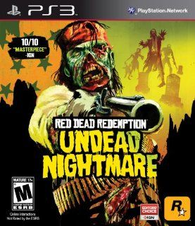 Red Dead Redemption Undead Nightmare   Playstation 3 Video Games