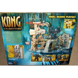 King Kong Skull Island Playset: Toys & Games