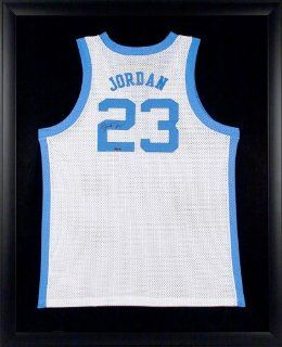 Michael Jordan Autographed University of North Carolina Home/White Jersey   Framed at 's Sports Collectibles Store