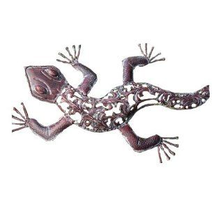 Ancient Graffiti Metal Die Cut Lizard (Discontinued by Manufacturer)  Outdoor Decor  Patio, Lawn & Garden