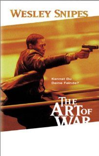 The Art of War [VHS]: Wesley Snipes, Donald Sutherland, Maury Chaykin, Anne Archer, Marie Matiko, Michael Biehn, Cary Hiroyuki Tagawa, Liliana Komorowska, James Hong, Paul Hopkins, Glen Chin, Ron Yuan, Bonnie Mak, Uni Park, Erin Selby, Fernando Chien, Paul