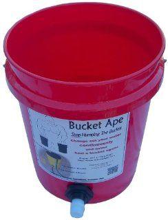 5 Gallon Bucket with Garden Hose adapter already mounted   Air Tool Hoses