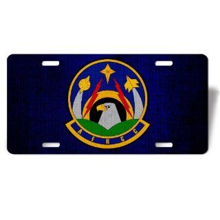 License Plate with U.S. Air Force Rescue Coordination Center (AFRCC)emblem