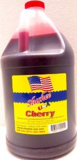 Cherry Slushie Mix   1 Gallon   128 oz (yields approximately 96 12oz servings) Mixing Ratio 7 (Water) to 1 (Product Mix)  Beverages  Grocery & Gourmet Food