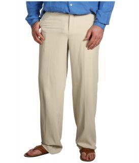 Tommy Bahama Big & Tall Big Tall Flying Fishbone Flat Front Pant Mens Casual Pants (Gray)
