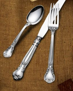 Wallace Silversmiths 66 Piece Gorham Chantilly Sterling Silver Flatware Service