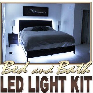 2' ft Cool White Bath Tub Sink Mirror LED Strip Lighting Complete Package Kit Lamp Light DIY   Behind Headboard, Closet, Make Up Counter, Behind Mirror, Reading Light, Night Light LED Reading Light Strip Night Light Lamp Bulb Accent Lights SMD3528 Wate