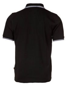 Alpha Industries TWIN STRIPE   Polo Shirt   black
