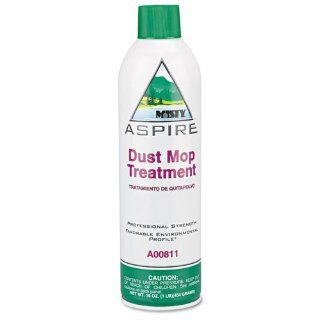 Misty Products   Misty   Aspire Dust Mop Treatment, 16 oz. Aerosol Can   Sold As 1 Each   Eliminates dust when used with dust mop heads, dust cloths and push brooms.   Environmentally friendly aerosol container dispenses foaming solution that's 98% fre