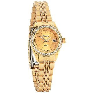 Best Quality Ladies Gld Watch With Date By Navarre&trade Ladies&apos Quartz Watch with Date: Everything Else