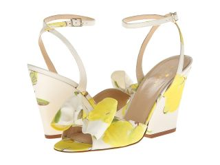 Kate Spade New York Iberis Womens Wedge Shoes (Yellow)
