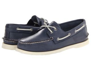 Sperry Top Sider A/O 2 Eye Free Time Mens 1 2 inch heel Shoes (Blue)