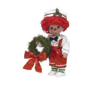 "Precious Moments Raggedy Ann Christmas Traditons Boy Doll 12"" Vinyl Toys & Games"