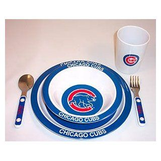 Chicago cubs kids toddler dinnerware plate cup etc set baby products