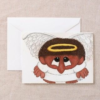 African American Angel Greeting Card by ADMIN_CP113431977