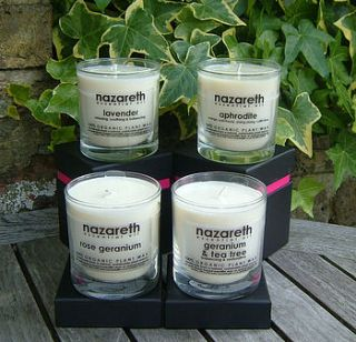 candles   natural plant wax by nazareth gifts