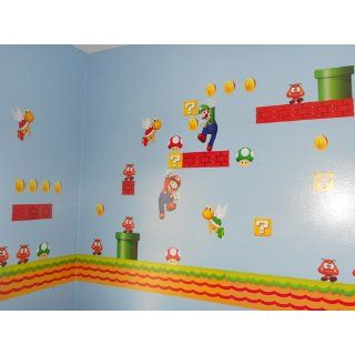 Super Mario Brothers Wall Decals   Wall Murals