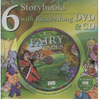 Fairy Tales 6 Storybooks with Read Along DVD & CD Creative Kids Publishing 9781554544608 Books