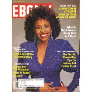 Ebony Magazine September 1988 Women Gives Tips for Looking and Feeling Great Ebony Magazine Books