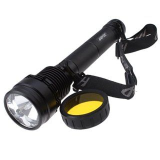 50W/38W Xenon Hid Flashlight Torch with Rechargeable 6600mAh Li ion Battery   Basic Handheld Flashlights