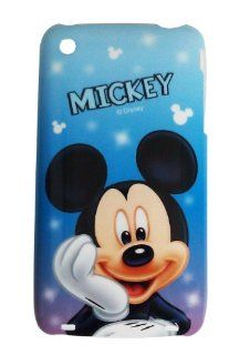 Disney � Mickey Mouse HARD BACK PIECE Faceplate Protector Case Cover (Cute Mickey Dreaming) for Apple iPhone 3G / 3GS 8GB 16GB 32GB + Free WirelessGeeks247 Metallic Detachable Touch Screen STYLUS PEN with Anti Dust Plug