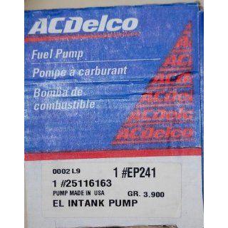 ACDelco EP241 Electric Fuel Pump Automotive