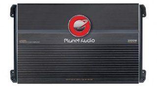 Planet Audio AP2000D 2000 Watts 1 OHM Stable Max Power Class D Monoblock Power Amplifier  Vehicle Mono Subwoofer Amplifiers