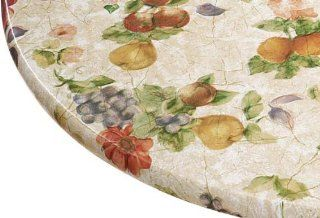 Antique Fruit Elasticized Table Cover by Miles Kimball   Tablecloths