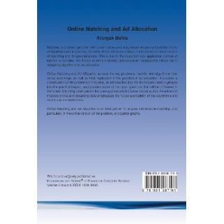 Online Matching and Ad Allocation (Foundations and Trends(r) in Theoretical Computer Science): Aranyak Mehta: 9781601987181: Books