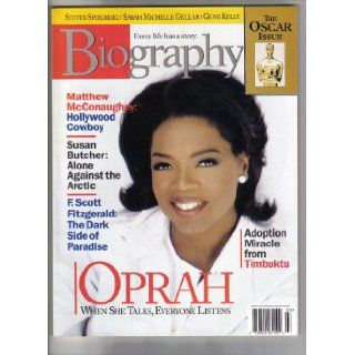 Biography Magazine (Biography Magazine March 1999 Oprah Winfrey, March 1999): various: Books