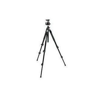 "Manfrotto 190XPROB 3 Section Black Aluminum Pro Tripod Legs (Height 3.15 57"", Maximum Load 11 lbs)   Bundle   with Manfrotto 496RC2 Compact Ball Head 496 & RC2 Plate  Camera & Photo"