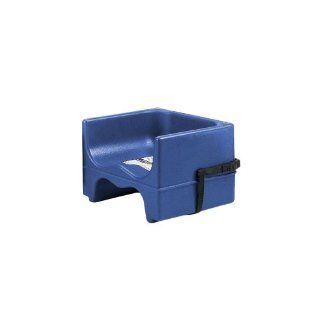 Cambro 200BCS186 Navy Blue Dual Seat Booster Seat w/ Strap   4 / CS : Chair Booster Seats : Baby